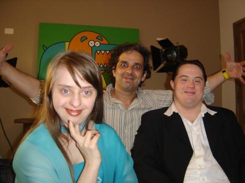 Ritinha, Ariel e Marcelo Bala bagunçando!
