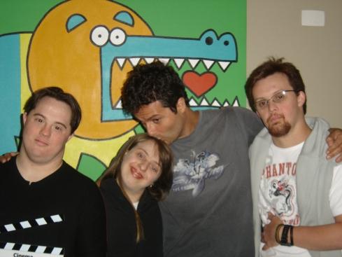 Ariel, Ritinha, Marcelo Galvão e Rodrigão