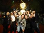 Celebrando a vitória no Festival de Gramado