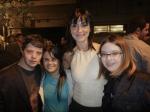 Com Breno, Fernanda Honorato e Samanta Quadrado no Festival do Rio