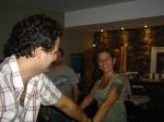 Marcelo e Andréa: ela vem chegando...