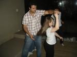 Ritinha bailando com Marcelo