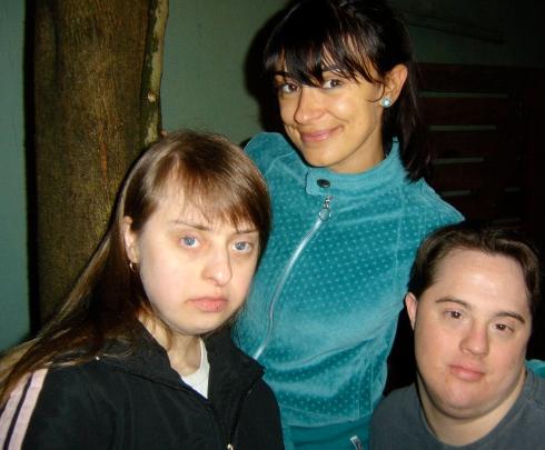 Ritinha, Alek e Ariel