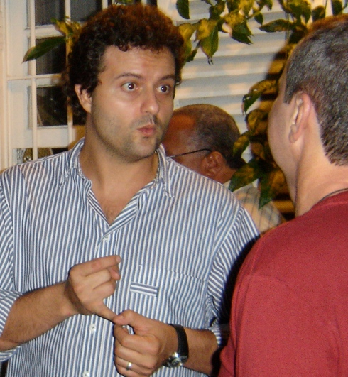 O diretor Marcelo Galvão