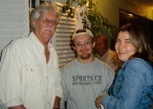 Paulo, Rodrigão e Sandra