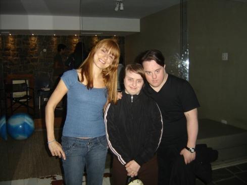Alek, Rita e Ariel