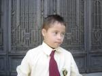Teo fez o papel de Marcio na infância.