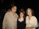 Rita posa com Lima Duarte e Amélia Bittencourt.