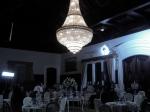 Ontem e hoje as filmagens acontecem no Salão Carlos Gomes da Escola de Cadetes de Campinas.