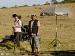 Tiago (2o assistente de direção) e Fabio (assistente de produção)