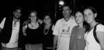 Fabio (assistente de produção), Simone (assistente de produção executiva), Juliana (produtora de objetos), Lucrécio (vice-prefeito de Souzas), sua esposa Angela e Neila (produtora de locação)
