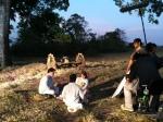 Fim de tarde e a cena do picnic ainda não terminou.