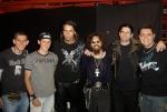 Paulo Homem (produção), Regis Venturine (baixo), Raoni Fraga (guitarra), J. Peron (vocalista), Francesco Lolli (bateria), Edu Lazari (teclado)