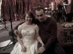 Rita com Zenor Ribas (diretor de arte)