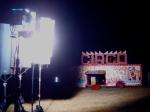 As filmagens no fim de semana rolaram em um circo em Paulínia.