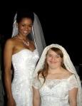 Natalia e Rita: o sonho da personagem Aninha é casar.