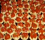Estrelinhas de tomate confit ao perfume de tomilho (by Claudia Porteiro Buffet)
