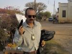 """O ator português Rui Unas, que interpreta o policial """"Portuga"""", está de volta ao Brasil."""