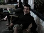 Gustavo (assistente de produção e dublê de Ariel)