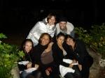 Ju Motta, Cris, Mari Hermann, Ju Di Grazia, Zenaide e Guilherme