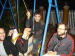 Set no Parquinho: agora é a vez de Guillermo Picco (microfonista) virar criança.