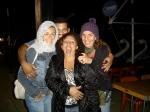 Eu, Fininho (motorista), Cris (make-up) e Andrea Beni (platô)