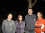 Amigos do Diretor: Beatriz, Gabriela, Roberto e Gisela participam da figuração