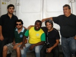 Guillermo, Juliano, Pereira, Federico e Heron