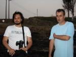 Rodrigo Tavares (diretor de fotografia) e Zenor Ribas (diretor de Arte)