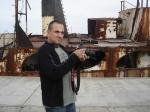 Mauro Lima filma tudo para o documentário e making-of.