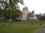 O último set em Buenos Aires rolou na belíssima Plaza Mitre.