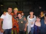 Galvão, Xuxa, Breno, Alek e Rita