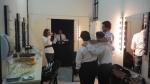 Ariel, Breno e Galvão posam antes de entrar em cena