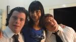 Breno, Alek e Ariel