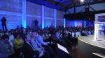 Empresários e executivos lotaram a plateia do evento.