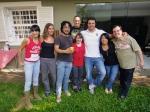 Alek, Andrea, Makino, Mauro, Rita, Marcelo, Carina e Flavio