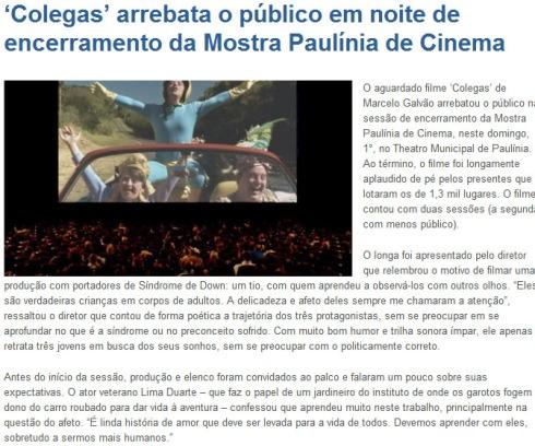 'Colegas' arrebata o público em noite de encerramento da Mostra Paulínia de Cinema