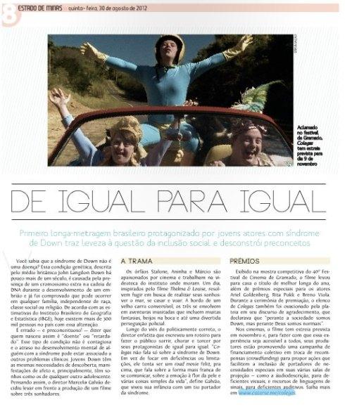 Estado de Minas: De Igual para Igual