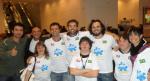 Elo Solidário: Marco Luque, Sandrão, Marcelo Galvão, Rita, Oswaldo Lot, Breno, Rodrigo, Ariel e Alek