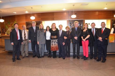 Embaixadores latinos