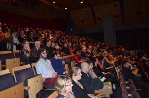 Público prestigia exibição